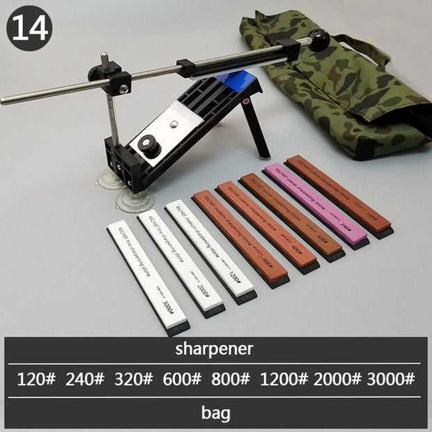 Sharpener Professional Kitchen Knife Fix Fixed Angle high quality  with multi stones sharpening stone whetstone grind