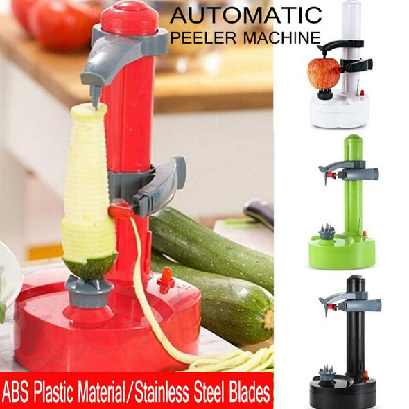 Multifunction Automatic Electric Potato Peeler Auto Rotating Fruit and Vegetable Cutter Apple Paring Machine kitchen Accessories