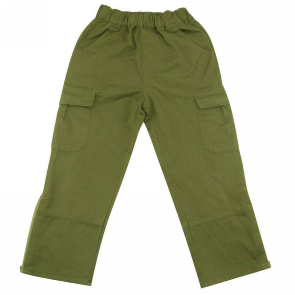 Olive Green Cargo Trousers