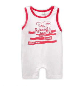 Coast Guards Department Baby Playsuit