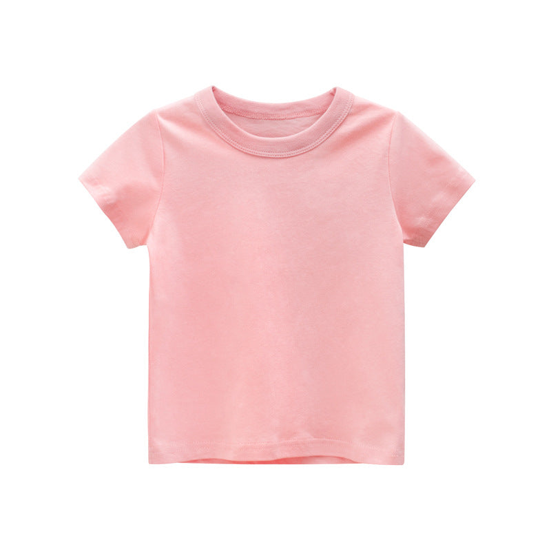 Girl or Boy  100% Cotton T-shirts - Pink