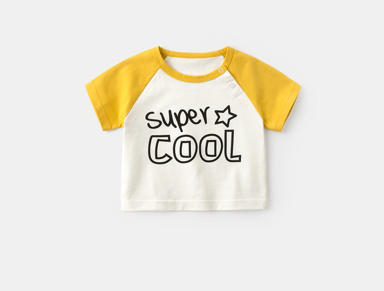 Boy Girl Cotton T-shirt (Super Cool)