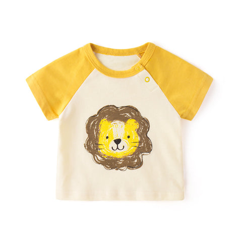 Cartoon T-shirt - Yellow Lion