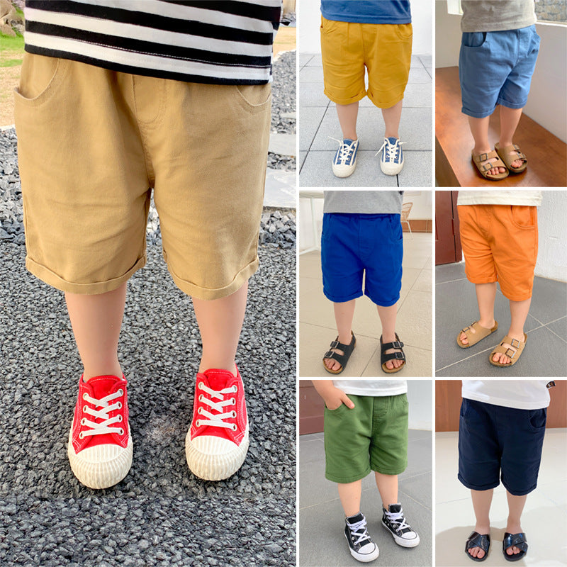 Short Pants Korean Style Soft Cotton For Boy And Girl