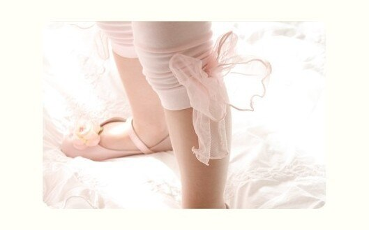 Deluxe Pink Lace Legging ( Made in Korea)