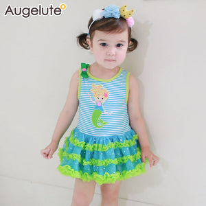 Little Mermaid TuTu Romper Dress