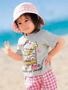 Grey Cupcake Tee Girl T-shirts