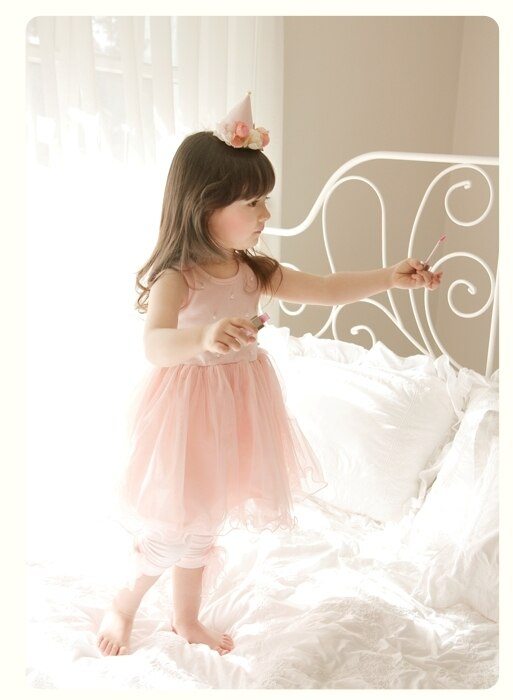 Deluxe  Elory - Pink TuTu Dress ( Made in Korea)