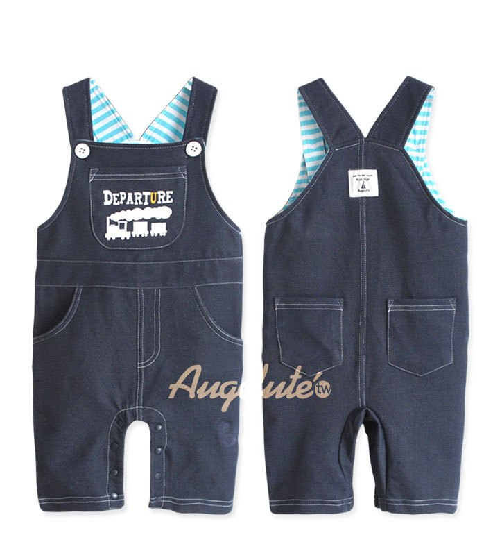 Cotton TuTu Train Dungaree