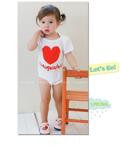 With Love Girl White Bodysuit
