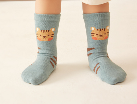 Baby Animal Socks - 3 Pairs in a Box ( Ready stock)