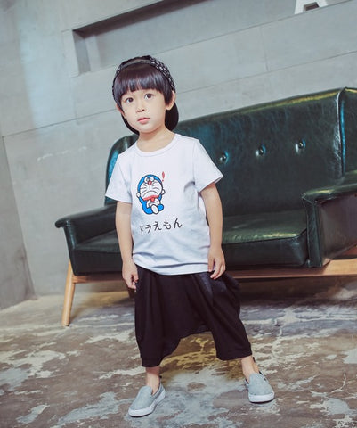 Doraemon T-shirt- White