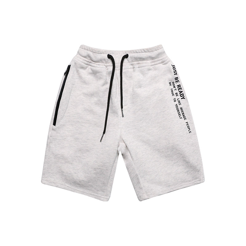 White Grey Sporty Short Pants ( Pre-order)