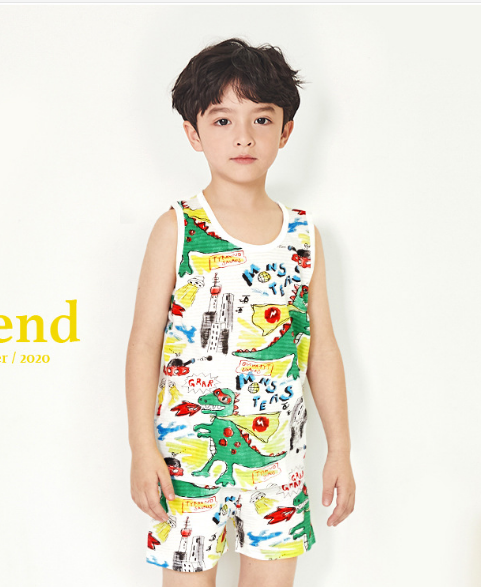 Organic Cotton Dino Two Piece Set ( Pre-order)