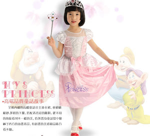 Cinderella Costume Dress For Kids- Pink