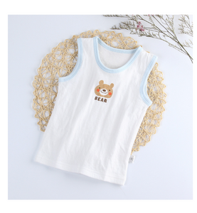 Bear Sleeveless Vest