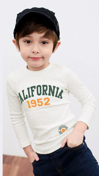 California 1952 Slim Fit Cotton Boys T-shirts