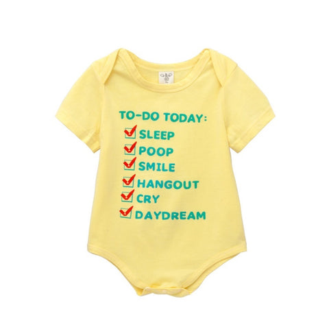 To Do List Romper