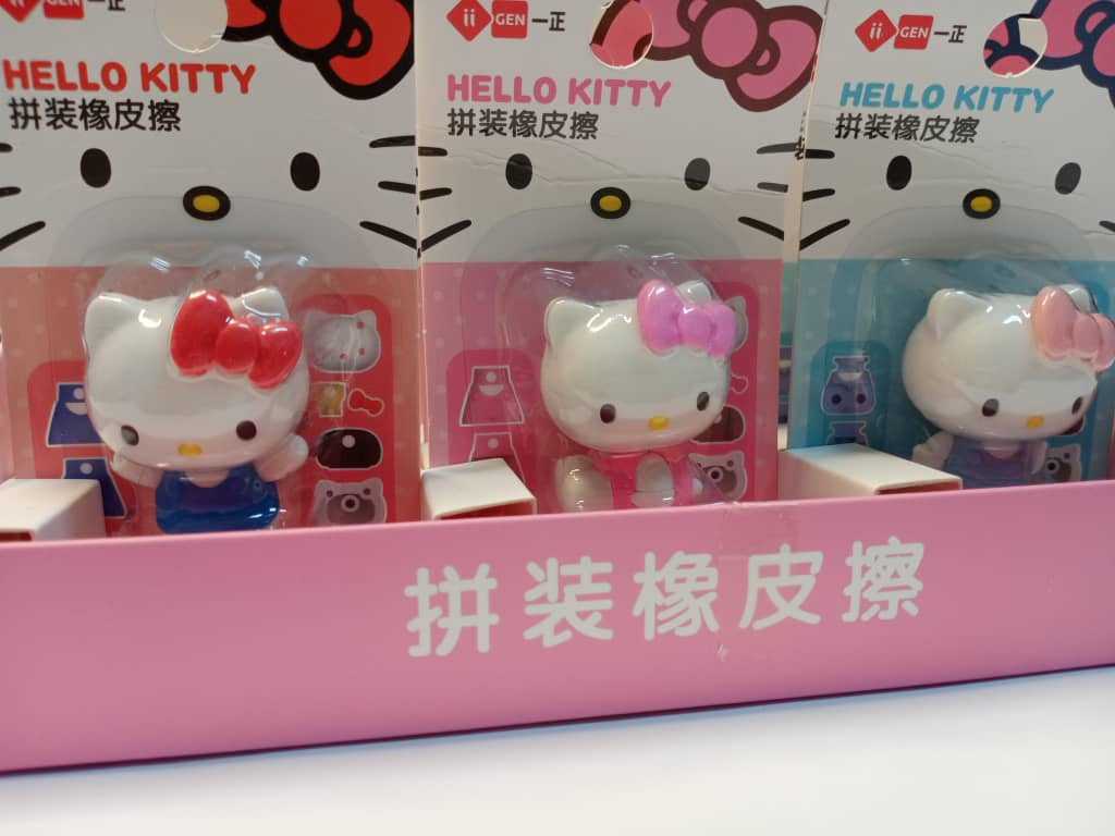 Cute Hello Kitty Cartoon Eraser Kid And Children Up To 3 Years Old Ready Stock