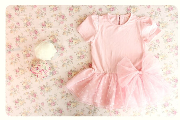 Luxury Alicia Pink Dress (Made in Korea)