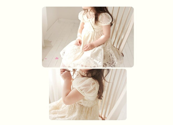 Deluxe  Avene Ivory Dress ( Made in Korea)