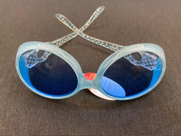 Korean Style Girl's Sunglasses (Light Blue)