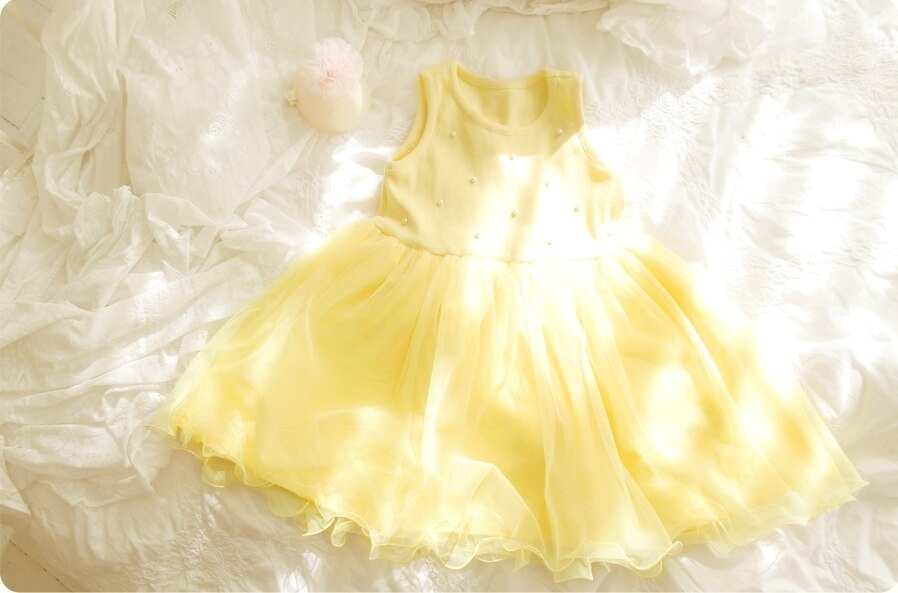 Deluxe  Elory - Yellow Dress ( Made in Korea)