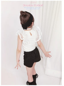 Deluxe Rodini Ivory Blouse ( Made in Korea)