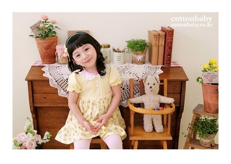 Luxury Shyness Floral Dress ( Made in Korea)