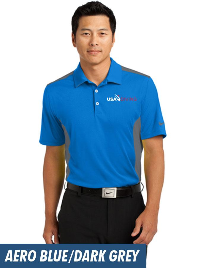 quality design 137f2 d4a24 Nike Dri-FIT Engineered Mesh Polo