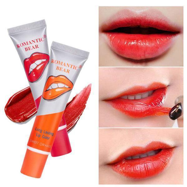 Peel-Off Colored Lip Gloss