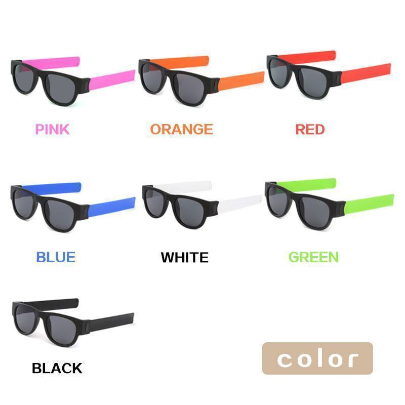 Foldable Wristband Polarized Light Sunglasses