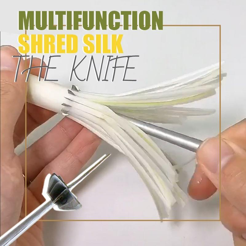Multifunction Shred Silk The Knife