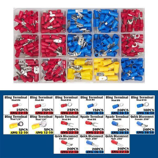Universal Insulated Wire Electrical Connectors-(280PCS )