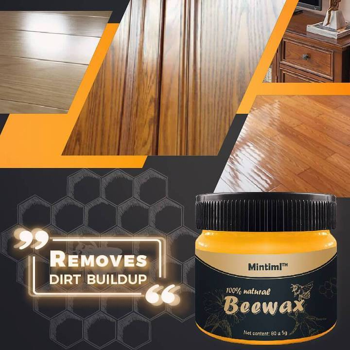 Leather Polishing Wood Seasoning Beeswax