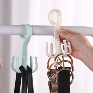 Rotatable Multi-jaw Storage Hook