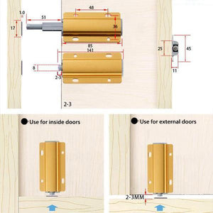 Furniture Cabinet Door Rebound