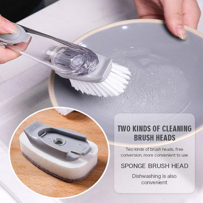 Dishwashing Brush(1Set)