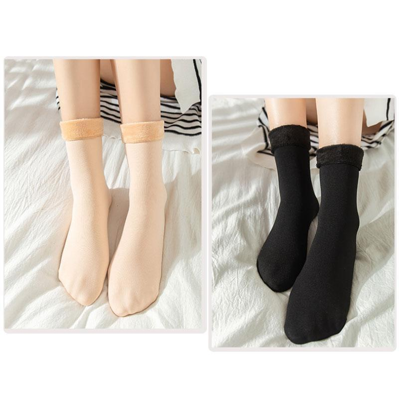 Thickening And Velvet Snow Socks(BUY 1GET 1 FREE)