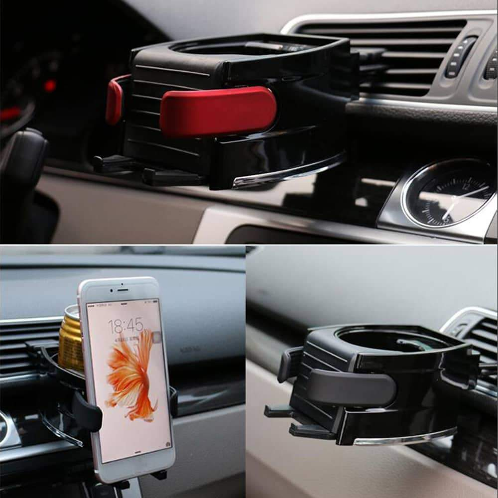 Car Air Outlet Cup Holder Mobile Phone Bracket