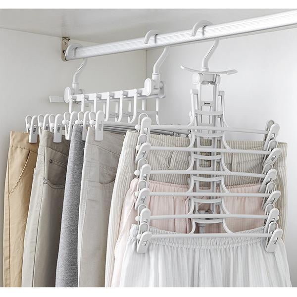 Foldable Coat Clothing Hanger