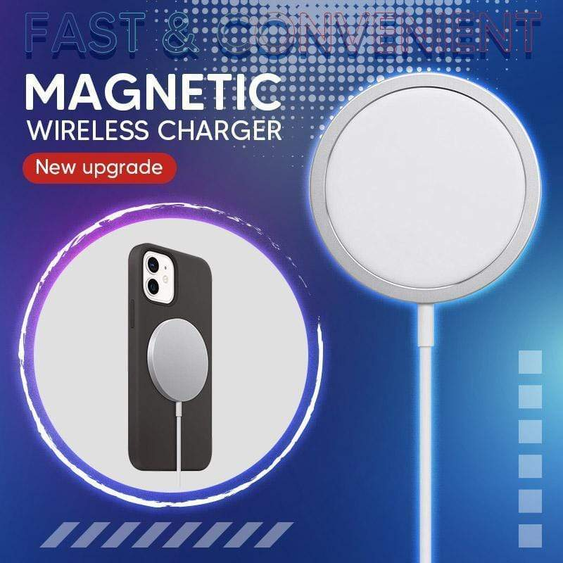 Magnetic fast wireless charger