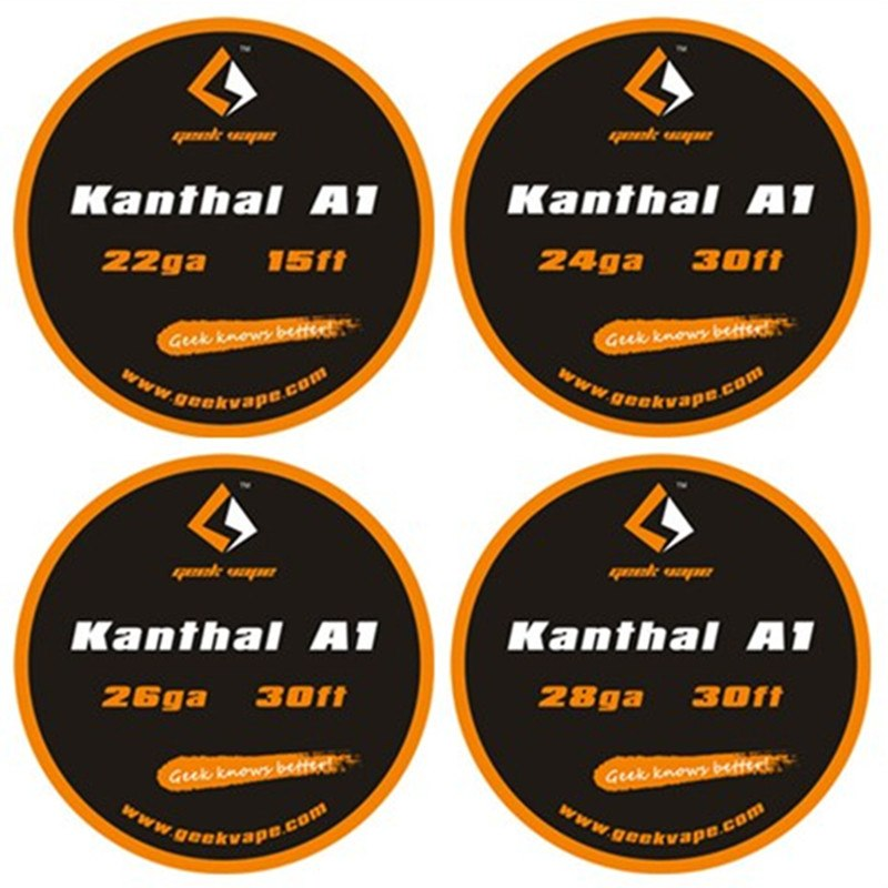 Geekvape Kanthal A1 Wire 30ft 24+26ga