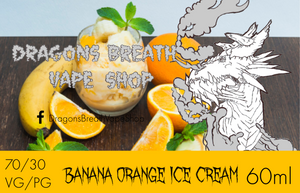 Banana Orange Ice Cream