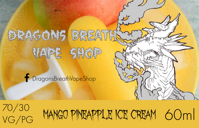 Mango Pineapple Ice Cream