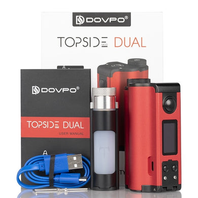 DOVPO TOPSIDE DUAL SQUONK MOD (Special Edition)