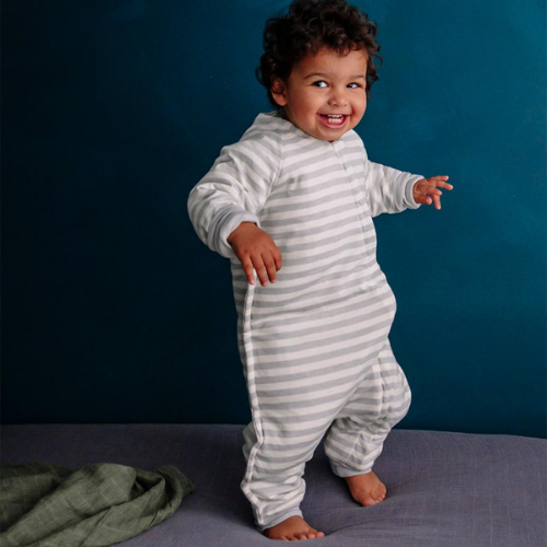 Duvet Sleep Suit with Sleeves-Sleeping Bag-Woolbabe-Merino & Me