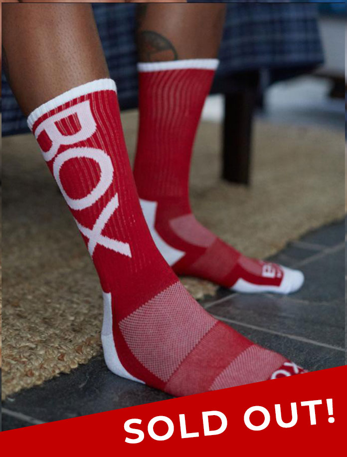 Lux Sports Socks - Red