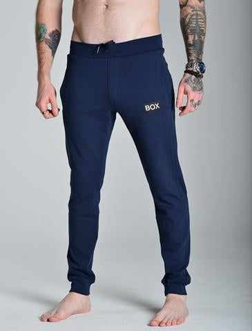 Super Soft Navy Joggers Bulge