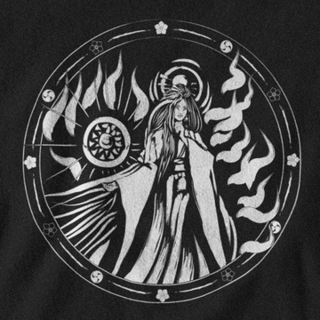 AMATERASU T-SHIRT - JAPANESE PANTHEON